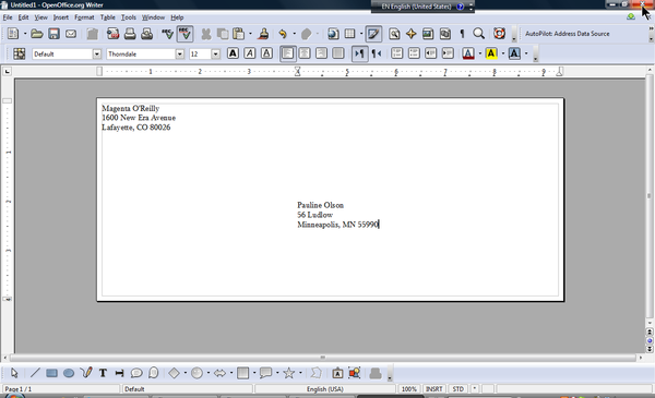 openoffice envelope template - training tips and ideas the most
