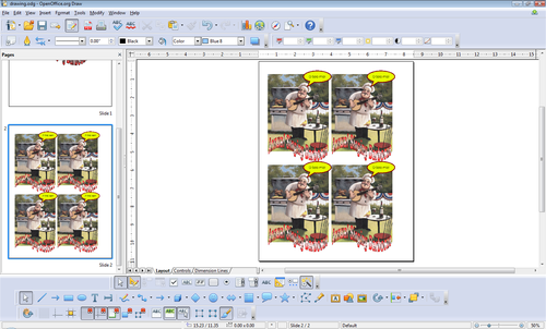 Openoffice Training Tips And Ideas Creating A Template For