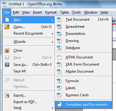 Open Office Templates | Openoffice Org Training Tips And Ideas Free Microsoft Office