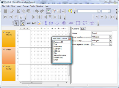 OpenOffice org Training, Tips, and Ideas: Databases