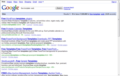 Googlefreetemplates
