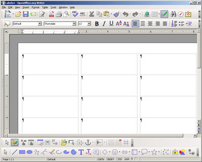 OpenOffice org Training, Tips, and Ideas: Labels
