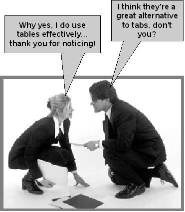 OpenOffice org Training, Tips, and Ideas: OpenOffice Tables in